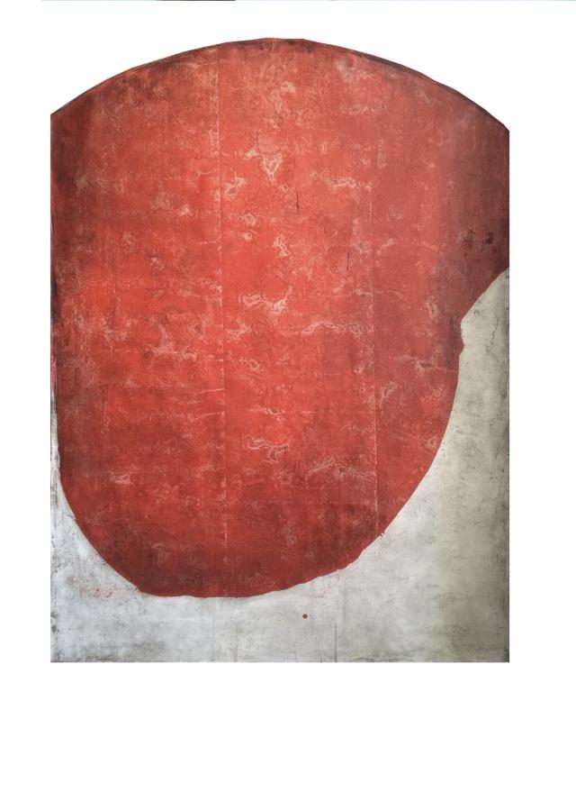 """Temperamento de los Apostoles, Juan"", 2015 Oil on linen, 80x60 inches"